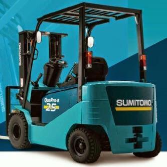 Xe nâng điện Sumitomo 3 tấn